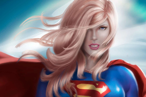 Artwork Supergirl Wallpaper