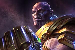 Artwork Thanos 4k