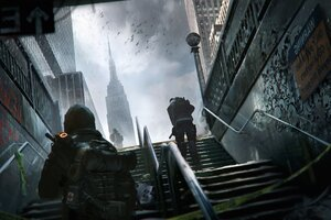 Artwork Tom Clanycs The Division