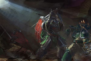 Artwork Warhammer 40k Wallpaper