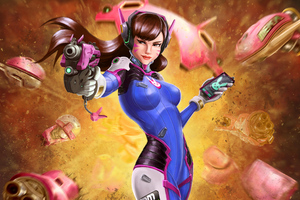 Artworks Dva Overwatch