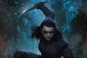Arya Stark 4k 2020