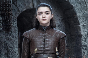 Arya Stark Game Of Thrones Season 8 Wallpaper