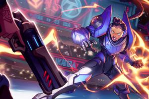 Ashani In Icons Combat Arena Video Game Artwork 4k 2018