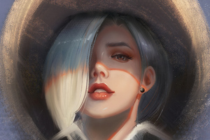 Ashe Overwatch Fanart Wallpaper