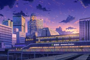 Asia Cityscape 4k
