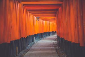 Asian Architecture Hallway 5k