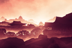 Asian Japan Digital Art 4k