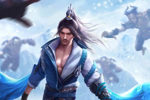 Asian Warrior 4k Wallpaper