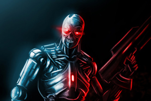 Assassin Machine From Terminator Series 4k Wallpaper