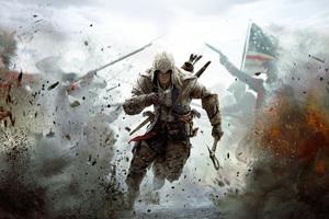 Assassins Creed 3 10k Wallpaper