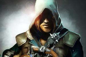 Assassins Creed 4 Black Flag Art
