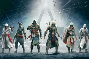 Assassins Creed Altair Ezio Connor Edward Wallpaper