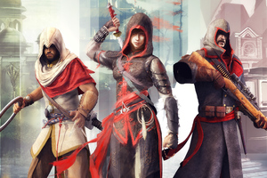 Assassins Creed Chronicles Trilogy 4k