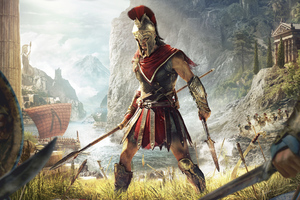 Assassins Creed Odyssey 4k Wallpaper