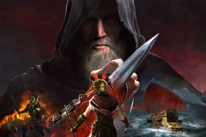 Assassins Creed Odyssey 8k Game