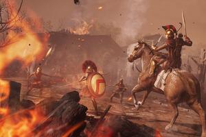 Assassins Creed Odyssey Battle