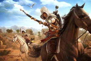 Assassins Creed Origins Bayek And Aya 4k