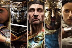 Assassins Creed Origins Characters Wallpaper