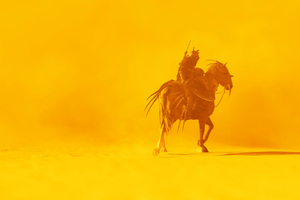 Assassins Creed Origins Horse Warrior 4k