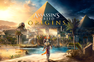 Assassins Creed Origins Pyramid 4k