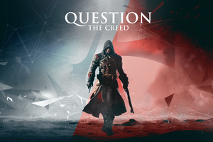 Assassins Creed Question The Creed 8k Wallpaper