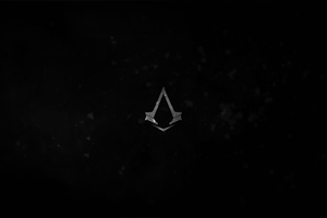 Assassins Creed Syndicate Logo Dark 4k Wallpaper