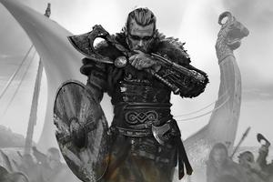 Assassins Creed Valhalla 2020 Cosplay Wallpaper
