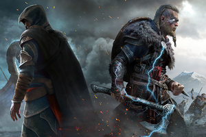 Assassins Creed Valhalla Game New Wallpaper