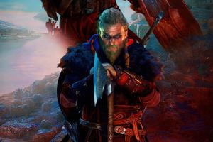 Assassins Creed Valhalla Ps5 4k Wallpaper