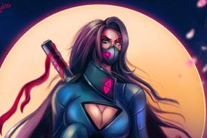 Assassins Cyberpunk Girl Wallpaper