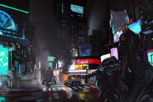 Assault In City