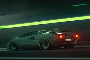 Assetto Corsa Game Lamborghini Countach 5k Wallpaper