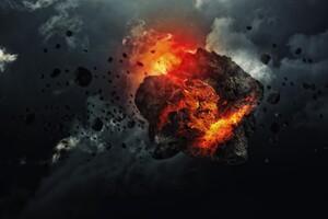 Asteroid Art Wallpaper