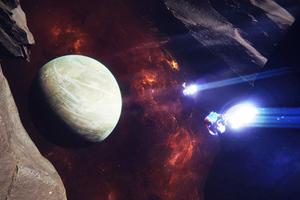 Asteroid Planet Space 5k Wallpaper