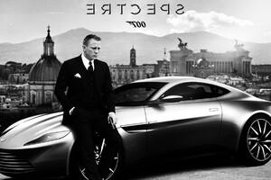 Aston Martin Daniel Craig Spectre Wallpaper
