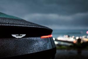 Aston Martin Db11 Rain 4k
