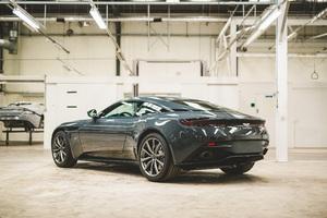 Aston Martin DB11 V8 Classic Driver Edition 2018 Rear Wallpaper