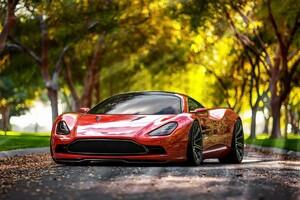 Aston Martin DBC Wallpaper