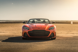 Aston Martin DBS Superleggera Volante 8k Wallpaper