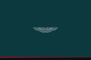 Aston Martin Minimal Logo 5k Wallpaper