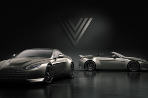 Aston Martin V12 Vantage V600 Aston Martin V12 Vantage V600 Roadster 2018