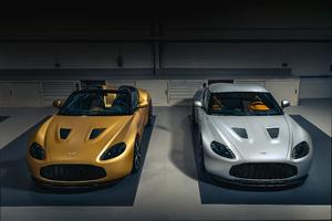 Aston Martin V12 Zagato Heritage Coupe And Zagato Heritage Speedster 5k Wallpaper
