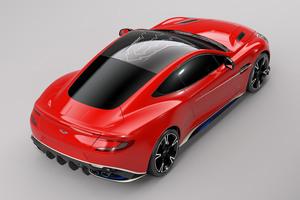 Aston Martin Vanquish S Red Arrows Edition Rear Wallpaper