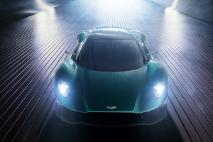 Aston Martin Vanquish Vision Concept 2019 Front