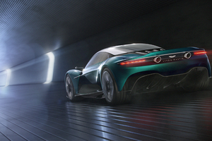 Aston Martin Vanquish Vision Concept 2019 Rear Wallpaper