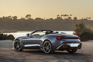 Aston Martin Vanquish Zagato 4k