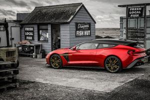 Aston Martin Vanquish Zagato 8k Wallpaper