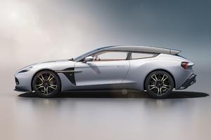 Aston Martin Vanquish Zagato Concept Car 2019 4k
