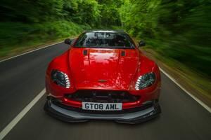 Aston Martin Vantage Red